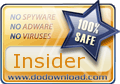 Insider was APPROVED and successfully published in www.DoDownload.com